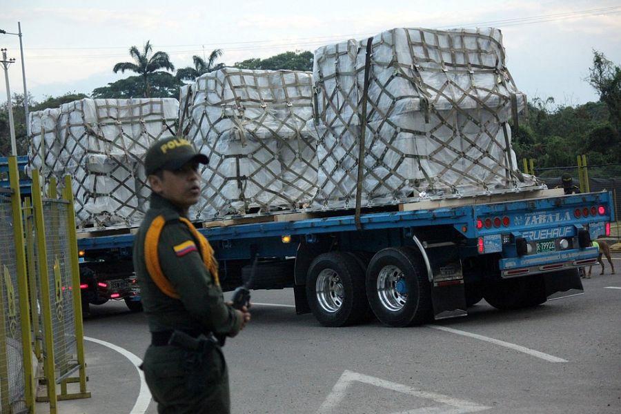 Венесуэлд үзүүлэх хүмүүнлэгийн тусламжийн эхний хэсгийг илгээжээ