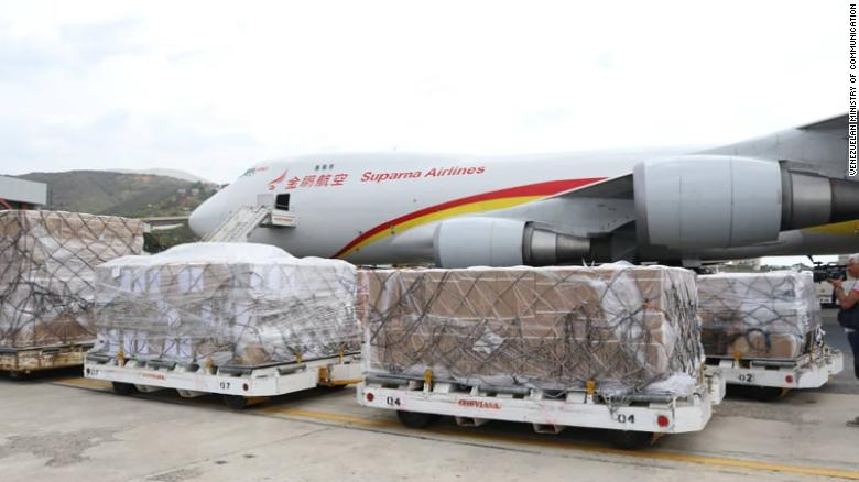 БНХАУ-ын тээврийн нисэх онгоц Венесуэлд газарджээ