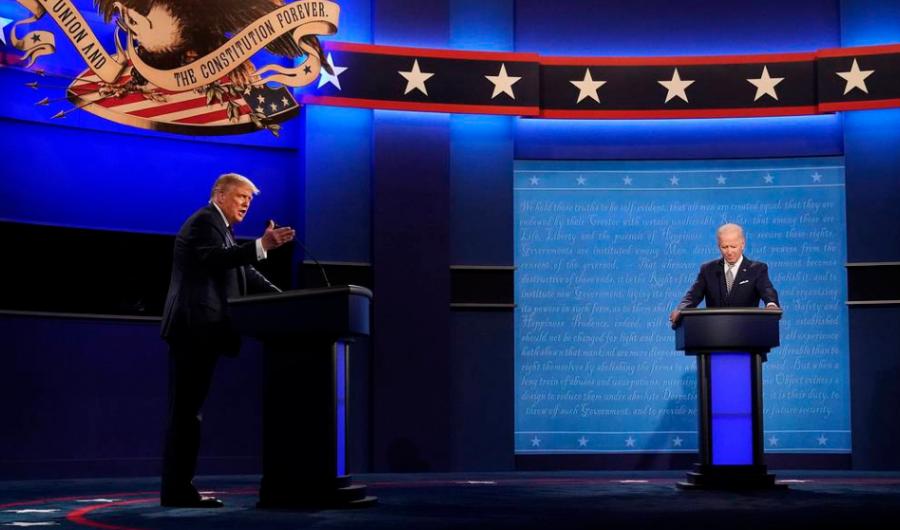 Дональд Трамп, Жо Байден нарын хоёр дахь мэтгэлцээнийг цуцалжээ