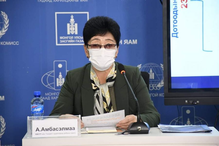 А.Амбасэлмаа: Хүн амын 70 орчим хувь нь халдварын эсрэг тодорхой хэмжээний хамгаалттай болсон