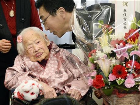 Дэлхийн хамгийн өндөр настан өнөө өглөө нас баржээ