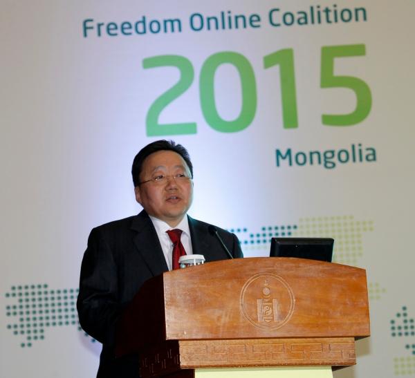 Ц.Элбэгдорж: Онлайн эрх чөлөө бол хүний эрх, эрх чөлөөний чухал хэсэг юм