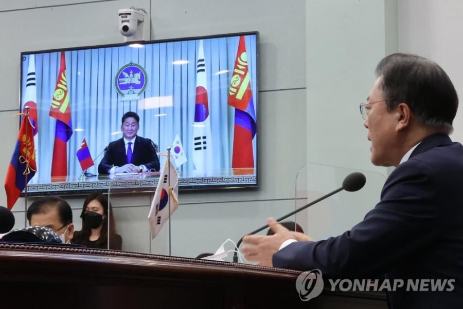 """БНСУ, Монгол Улс хоёр талын харилцааг """"стратегийн түншлэл""""-ийн түвшинд хүргэн ахиулна"""