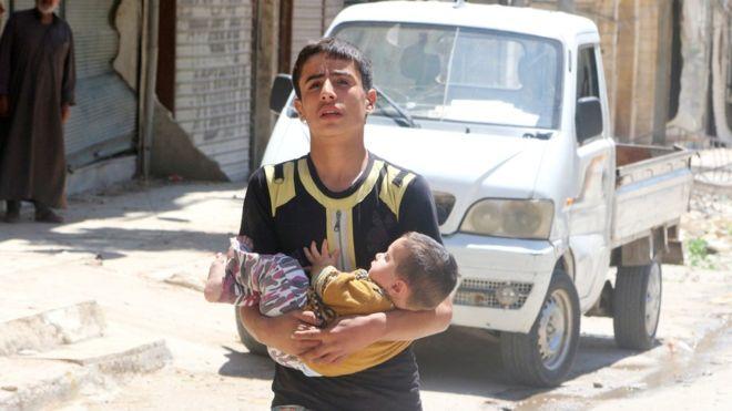 Сири шинэ зэвсэг турших талбар биш