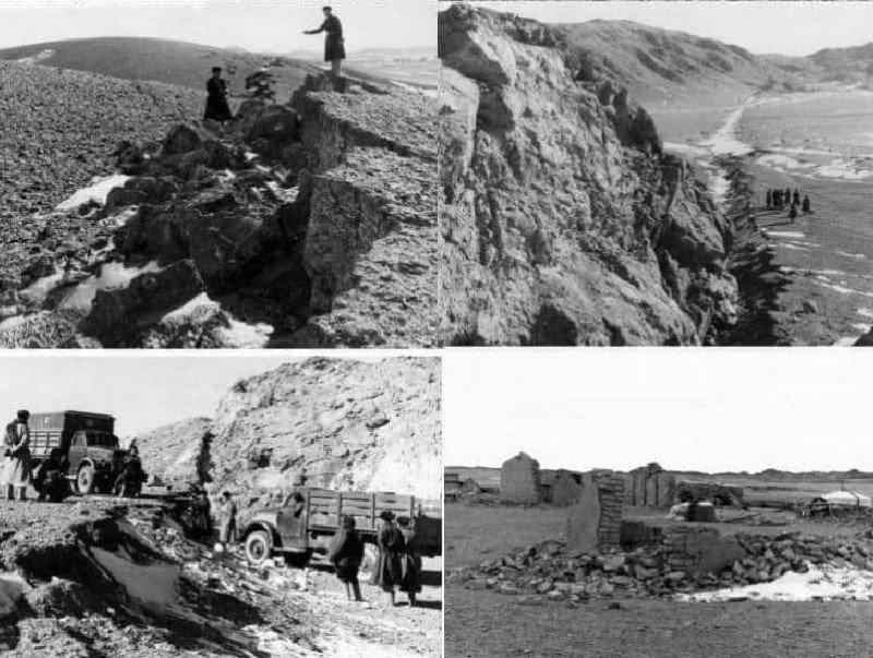 Монголд болсон асар хүчтэй газар хөдлөлт