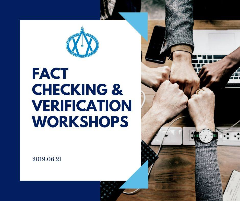 FACT CHECKING & VERIFICATION WORKSHOPS