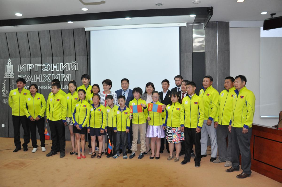 Дэлхийн тусгай олимпийн зуны наадамд 14 тамирчин оролцоно