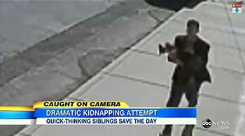 Хүүхэд хулгайлахыг оролджээ (видео)
