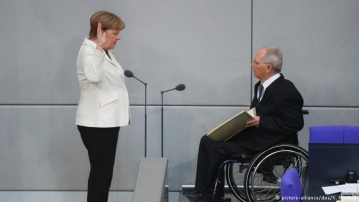 А.Меркель мухардлаас гарсан нь буюу Эвслийн гэрээ