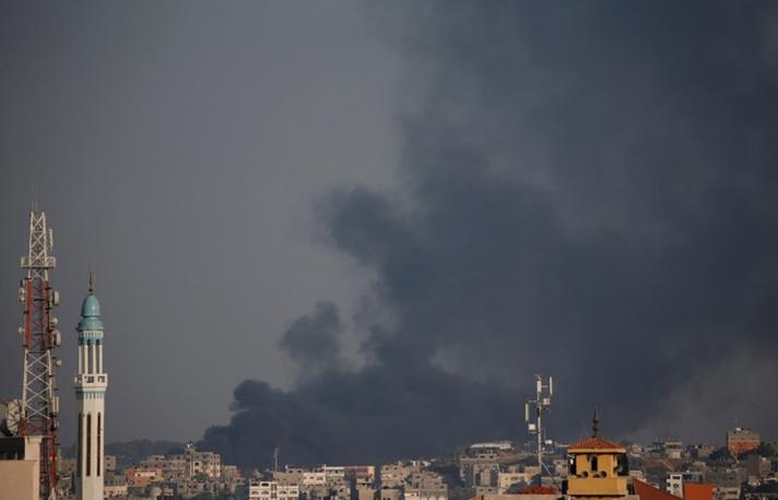 Израиль Газын зурваст хариу цохилт өгчээ