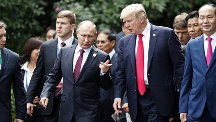 Д.Трамп В.Путинийг АНУ-д урьжээ