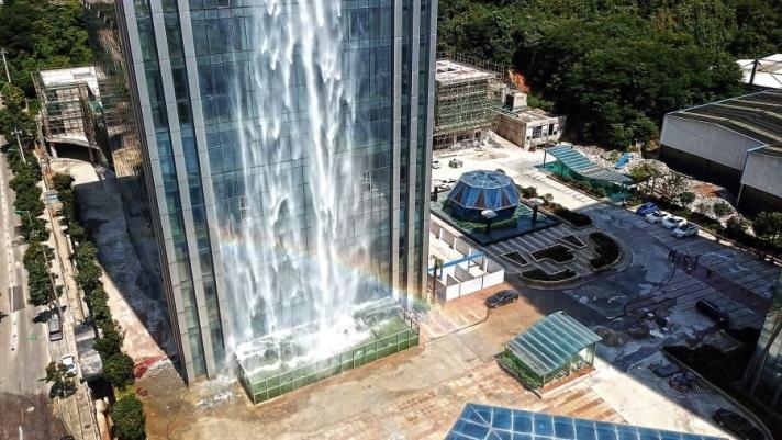 Хятадад дэлхийн хамгийн өндөр хиймэл хүрхрээ байдаг