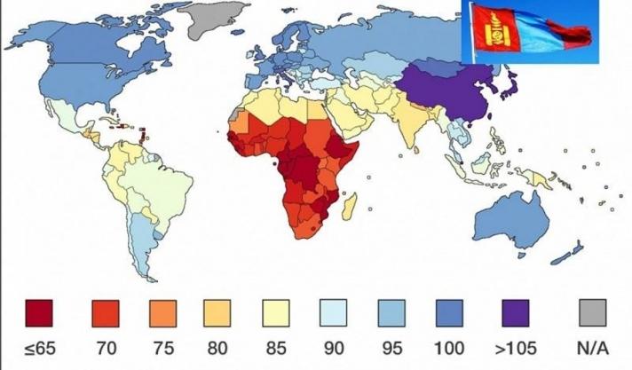 Монголчууд дундаж IQ-гийн түвшингээр дэлхийд зургадугаарт эрэмбэлэгджээ