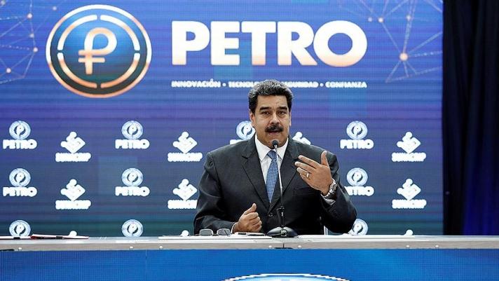 Мадуро үндэсний криптовалют гаргаснаа мэдэгдэв