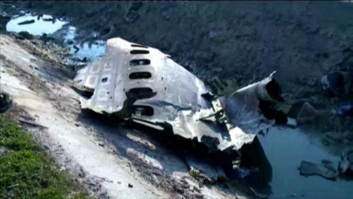 Иран осолдсон онгоцны хар хайрцгуудыг
