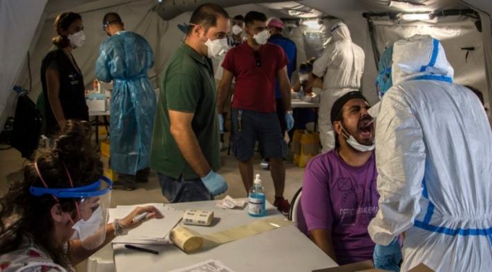 Грек дэх цагаачдын хуаранд халдварын 35 тохиолдол илэрлээ