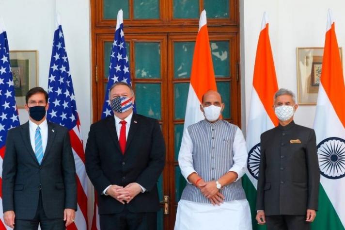 АНУ, Энэтхэг цэргийн хамтын ажиллагаагаа бэхжүүлнэ