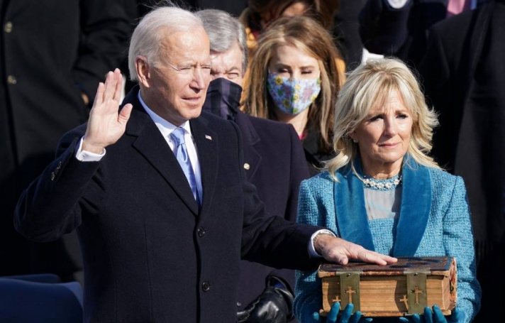 АНУ-ын 46 дахь Ерөнхийлөгч Ж.Байден тангараг өргөлөө