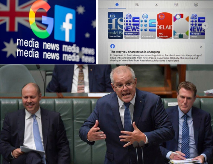 Facebook, Google -ийн эсрэг Австралийн шинэ хуулийн эргэн тойронд