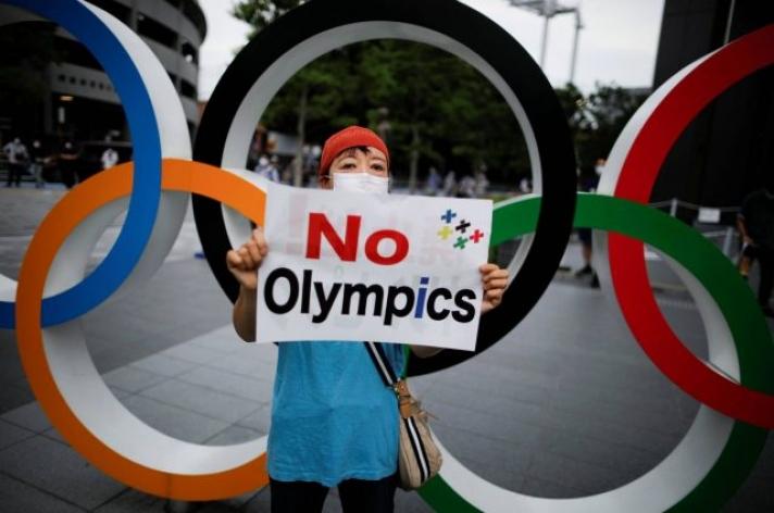 Япончууд олимпыг эсэргүүцлээ