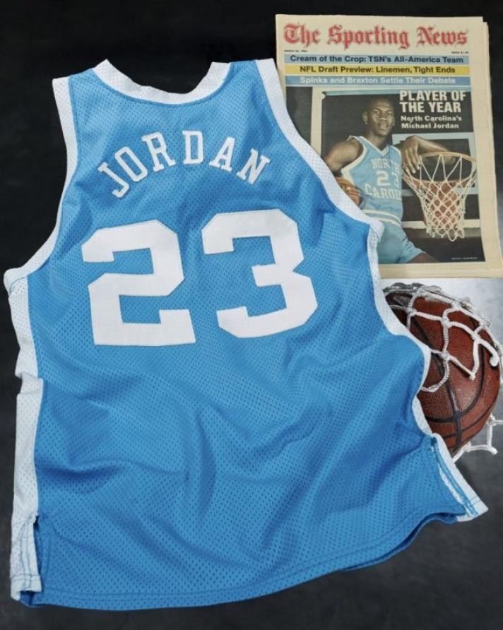 Майкл Жорданы өмсгөл дээд амжилт тогтоожээ
