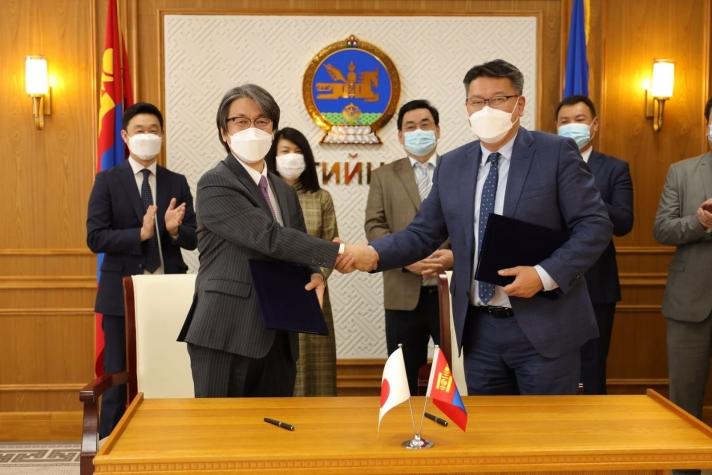 Япон Улсаас Монгол Улсад олгох 883 сая иений буцалтгүй тусламжийн гэрээг баталжээ