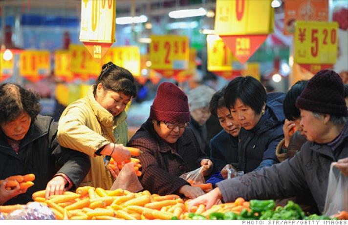 Хятадын CPI 0.8 хувиар өсжээ