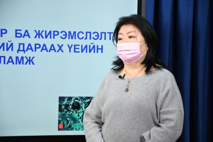 Д.Мөнхцэцэг: Коронавирус нөхөн үржихүйн тогтолцоонд суурь өвчин үүсгэхгүй
