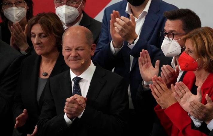 Германд болсон сонгуулийн урьдчилсан дүн гарчээ