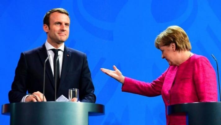 """Меркелийн дараах Европын """"удирдагч"""" Макрон"""