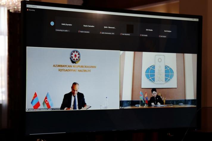 Монгол, Азербайжан Улсын Засгийн газар хоорондын Худалдаа, эдийн засгийн хамтын ажиллагааны хэлэлцээрт гарын үсэг зурлаа