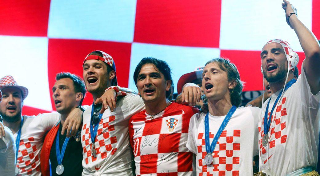 Хорватын шигшээ баг нутагтаа ирлээ