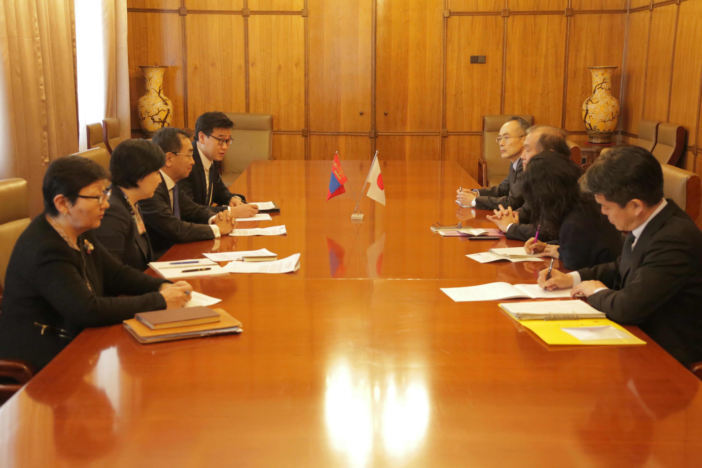 Монгол-Японы стратегийн зөвлөлдөх уулзалт боллоо