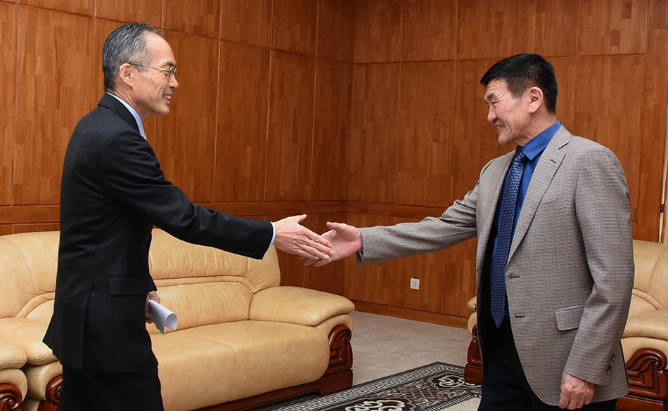 УИХ-ын дэд дарга Япон Улсын Элчин сайдтай уулзлаа