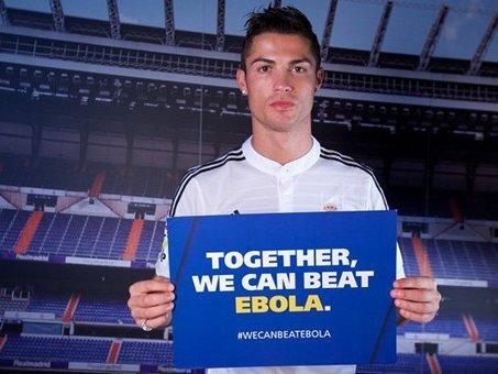 Дэлхийн шилдэг хөлбөмбөгчид Еболагийн эсрэг