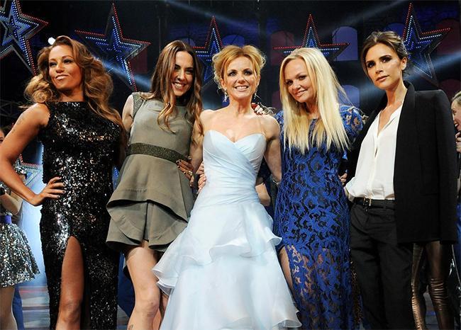 """Дэвид Бекхэм """"Spice Girls""""-ийг дэмжинэ"""