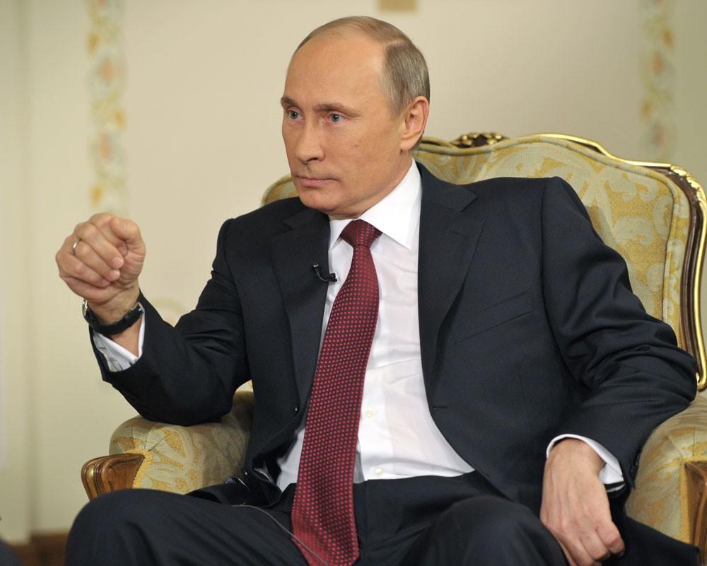 В. Путин: Украины хямрал АНУ-аас болж үүссэн