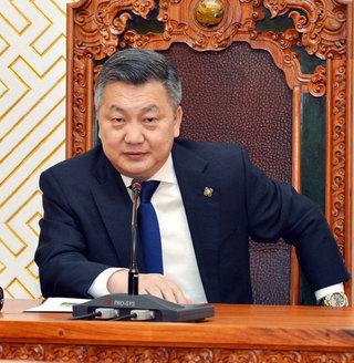 Монгол Улсын Их Хурлын даргын илгээлт