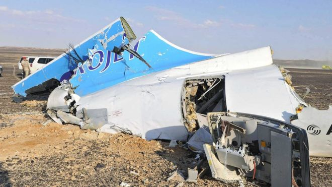 Оросын онгоцыг террористууд сүйрүүлснийг тогтоожээ