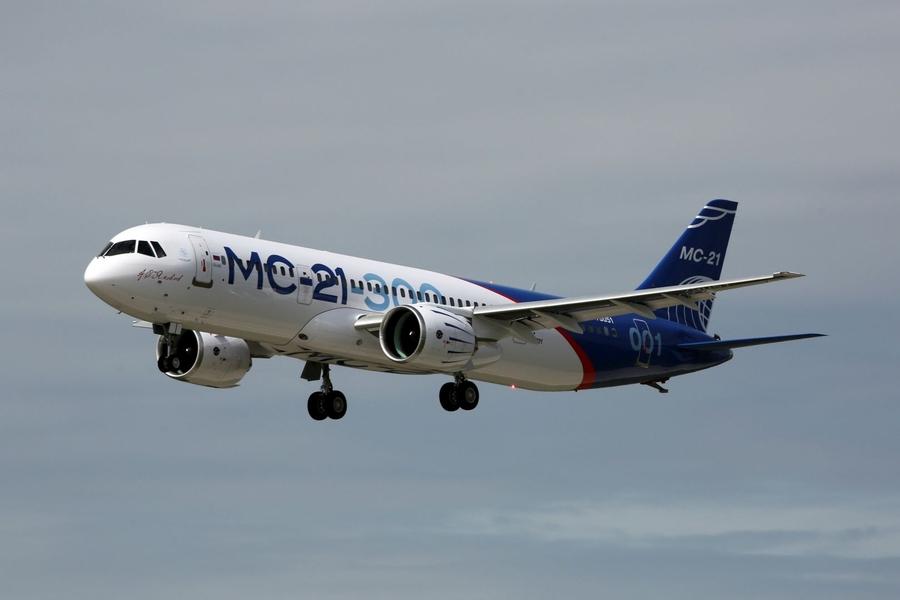 Оросын зорчигч тээврийн шинэ онгоцыг амжилттай туршжээ
