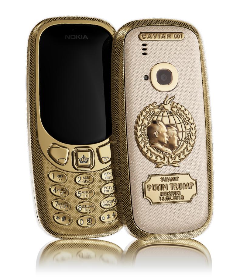 """Путин, Трамп нарт зориулан """"Nokia 3310"""" гар утасны шинэ загварыг гаргажээ"""
