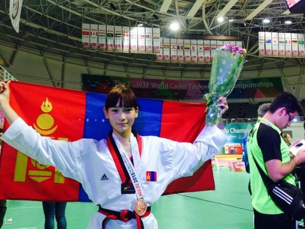 Манай тамирчин таэквондогийн дэлхийн аваргаас хүрэл медаль хүртжээ