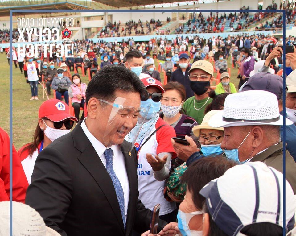 Монгол Улсын Ерөнхий сайд, МАН-ын дарга У.Хүрэлсүх Орхон аймагт ажиллалаа