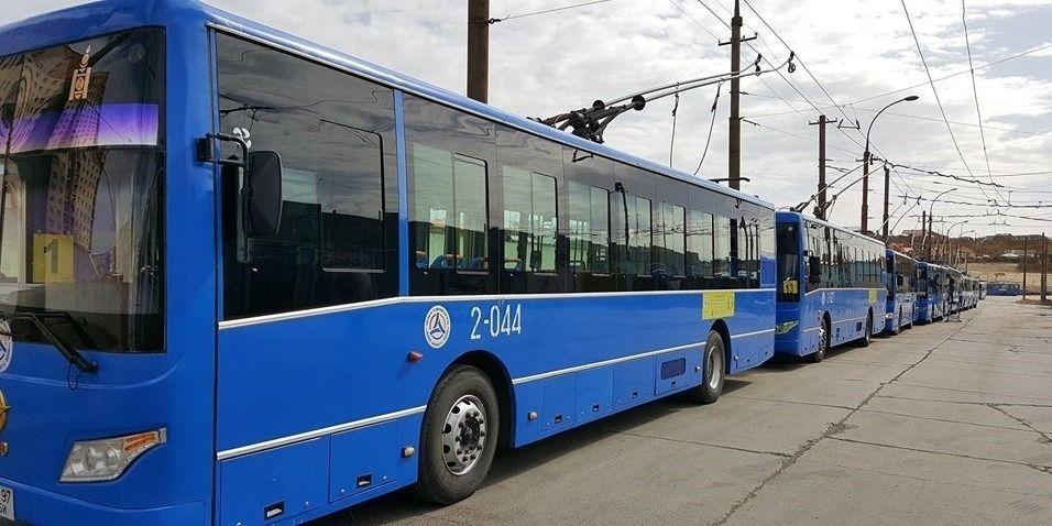 Их засварт байсан найман троллейбусыг үйлчилгээнд гаргажээ