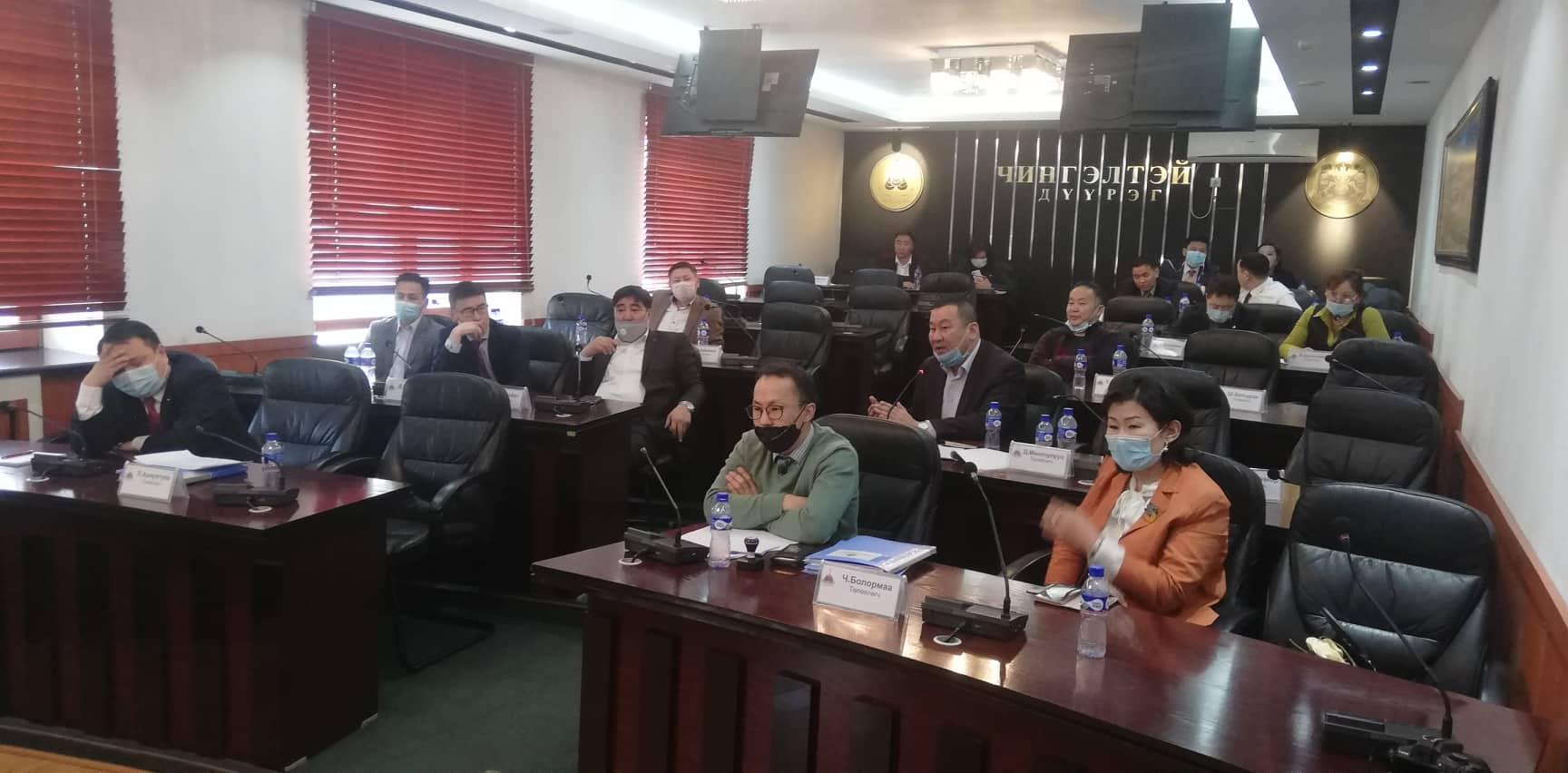 Д.Оюунхорол сайд Хан-Уул дүүрэгт суурьшсан Завхан, Төв аймгийн төлөөлөлтэй уулзлаа