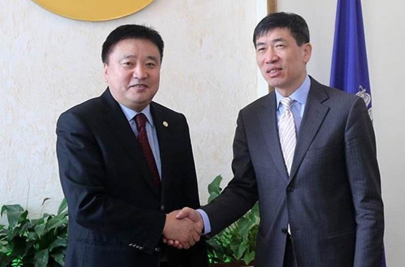 НҮБ-ын Ази, Номхон далайн бүсийн захиралтай уулзлаа