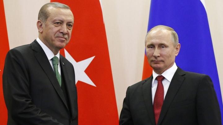ОХУ, Туркийн ерөнхийлөгч утсаар ярив