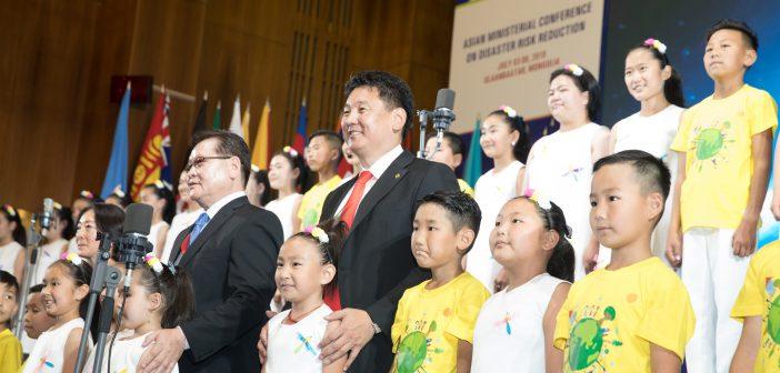 Гамшгийн эрсдэлийг бууруулах Азийн сайд нарын бага хурлын фото агшин