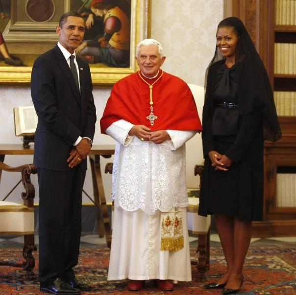 Обама Ромын папад талархлаа илэрхийллээ