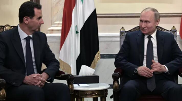 В.Путин Сирийн Ерөнхийлөгчтэй уулзжээ